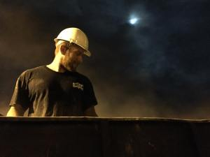 Jon Shrout Photo installing drain feild